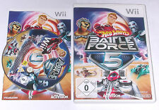 "NINTENDO WII SPIEL"" HOT WHEELS BATTLE FORCE 5 "" KOMPLETT"