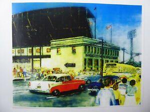 Kansas City A's Municipal Stadium Poster Art Print Photo Tess Miller 11x14