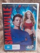 SMALLVILLE COMPLETE SEVENTH SEASON  6 DISC BOXSET  DVD MA R4