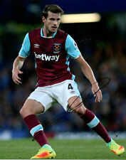 HAVARD NORDTVEIT - Signed 10x8 Photograph - FOOTBALL - WEST HAM UTD