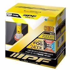 104FLB IPF LED Fog Lamp Yellow 2400K H8 / H11 / H16 12v12w from Japan -Kz