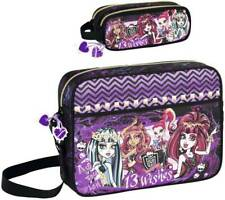 Monster High XL Bolso Bandolera Caja de Lápices Estuche para