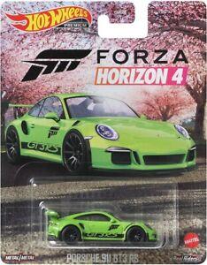 Hot Wheels 2021 Real Rider Forza Horizon 4 1/64 Porches 911 GT3 RS GRL77