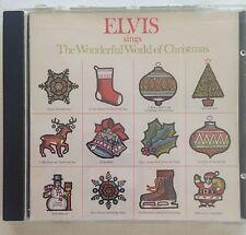 Elvis Sings The Wonderful World Of Christmas CD BMG RCA 12 Songs Presley