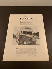 Special Bulletin Santa Fe Trail Transportation CO. Motor Bus Society Articulated