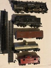 VINTAGE HO American Flyer MODEL TRAIN SET of 5, ESTATE FIND