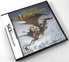 New listing Ds Final Fantasy: The 4 Heroes of Light - Brand New Factory Sealed