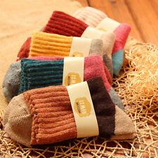 1pair Cute Women Girls Knit Rabbit Wool Socks Warm Winter Kids Christmas Gift