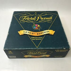 Trivial Pursuit Genus TM Edition Classic Vintage Board Game for the Family