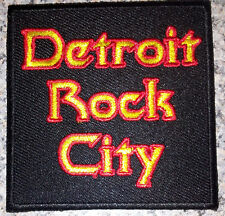Detroit Rock City patch 1