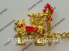 Feng Shui - 2015 Large Pi Yao with Flaming Sword Keychain