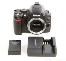 Nikon D40 6.1MP DSLR Digital Camera Black Tested Working w Battery & Charger VGC