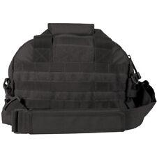 Black Tactical Field Range Bag Pack 2 Compartment Carry Handles Shoulder Strap