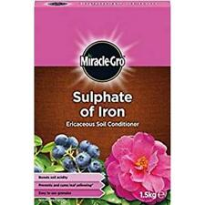 1.5kg SULPHATE OF IRON from MIRACLE-GRO ERICACEOUS PLANT FOOD
