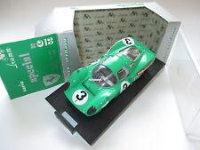Ferrari 330 P3 (1966) in grün verte green Piper - Attwood #3, Brumm 1:43 boxed!