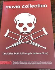 JACKASS MOVIE COLLECTION LN 2 DVD Set 2006 by Johnny Knoxville & The Boys