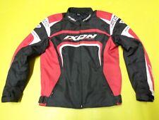 Veste moto de Ixon moteur Style Textile Noir Rouge Blanc Blouson Moto Taille M nr24