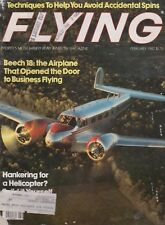 Flying Magazine (Feb 1982) (Beech 18, Accidental Spins, RotorWay, Cheyenne II)