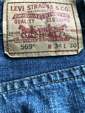 Used Levis 569's