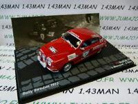 RIT14M voiture 1/43 IXO Altaya rallye : SAAB 96 V4 Blomqvist Suède 1972 #8