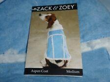 DOG/Pet  ASPEN COAT  by Zack & Zoey   size Medium  NWT  alpine blue