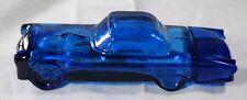 Vintage Avon Decanter Bottle Blue Thunderbird '55 Wild Country                 1