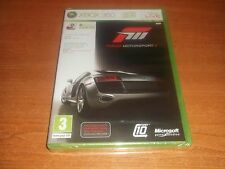 FORZA MOTORSPORT 3 III BRAND NEW CELLOFANE SEALED  MICROSOFT XBOX 360  PAL GAME