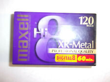 Maxell Xr-Metal Hi8 120 Professional Quality 8mm Camcorder Videotape