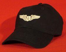 USAF BASIC FLIGHT NURSE WINGS Aviator BALL CAP low-profile Flight Nurse hat