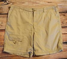 Mens Shorts size 42 Eddie Bauer Khaki Tan Casual Camping Hiking