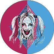 Pink and Blue Harley Suicide Squad Sticker Decal