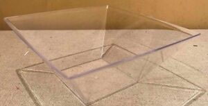 24 DESSERT SALAD BOWLS REUSABLE HARD PLASTIC WEDDING PARTY 155mm x 65mm SWEETS