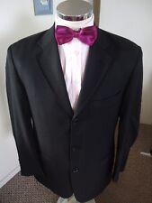 "HUGO BOSS 'Einstein/Omega' Men's Black Suit Jacket C40"" (EUR50) Regular Wool"