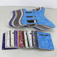 4Ply Strat Guitar HSS Pickguard SSH 11Holes Scratch Plate Back Cover Pearl Color