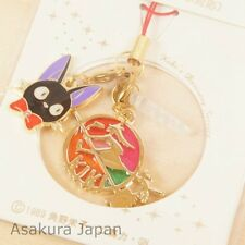 Kiki's Delivery Service Stained glass style Phone Strap Gold Ghibli Jiji
