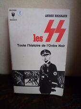 Les SS - Histoire de l'Ordre Noir - BRISSAUD - 331 Pages - MARABOUT - 1968