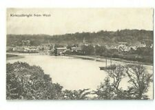 Postcard Kirkcudbright from west Dumfries Kipford