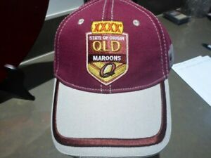 CCC CANTERBURY QLD STATE OF ORIGIN SUPPORTERS CAP NWT
