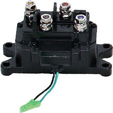 UNIVERSAL ATV WINCH CONTACTOR SWITCH RELAY SOLENOID WIRE HOOKUP
