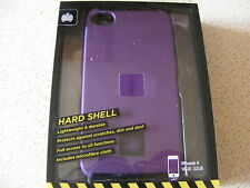 IPhone 4 Ministry of Sound Purple Hard Shell Phone Case 16GB 32GB Brand New