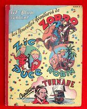 ZORRO Album n°6 - n°136 à 152 - 1948/1949 - TBE