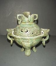 Antique Jade Chinese Censor