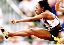 (09236) Postcard Olympic Games 1996 Atlanta Gail Devers MODERN