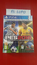 PRO EVOLUTION SOCCER PES 2016 EDITION DAY ONE SONY PS4 NEUF SOUS BLISTER VF