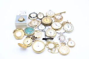 20 x Vintage Ladies PENDANT / FOB / RING WATCHES Hand-Wind Inc. Ingersoll Etc