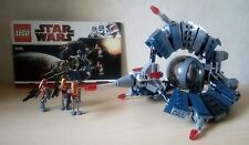 Lego Star Wars 8086 - DROID TRI FIGHTER - COMPLET -