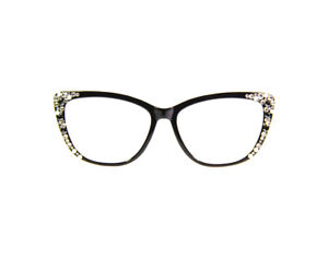 CatEye Reading Glasses made with Swarovski Crystals +3.25