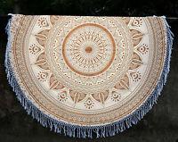Indian Round Hippie Ombre Mandala Tapestry Boho Beach Throw Yoga Mat Rug Decor