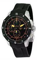 Tissot T-Navigator Automatic Chronograph Black Dial Men's Watch T0624271705701