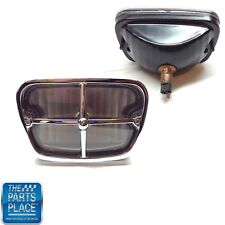 1969-73 Firebird / Trans Am Park Lamp Assembly With Lens, Headlamp & Bezel Each